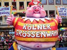 Prunkfiguren: Die Figuren der Karnevalsumzüge sind wahre Kunstwerke. (Foto: Helmut Löwe)