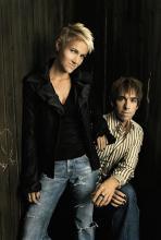 """Roxette: Marie Fredriksson und Per Gessle kommen mit """"Charm School"""" zurück. (Foto: EMI Music Germany)"""