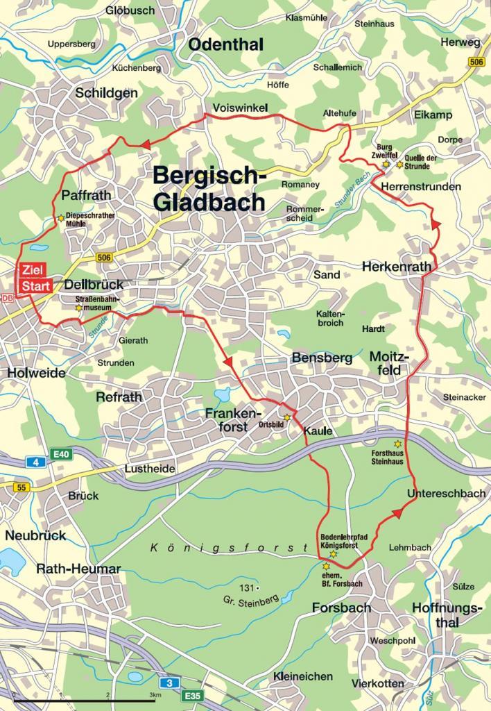 Rund um Bergisch Gladbach koelnde