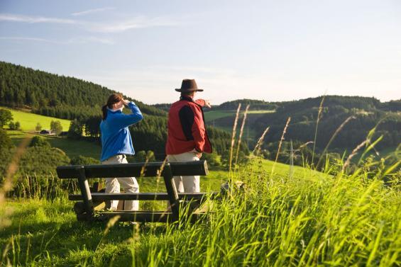 Weite Ausblicke vom Sauerland-Höhenflug Sauerland-Tourismus e. V. / Foto: Sabrina Voss