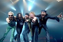 Die Scorpions: Beenden mit ihrem 22. Album eine 40-jährige Bandkarriere. (Foto: Ross Halfin)