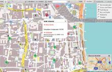 So sieht der neue Stadtplan von koeln.de aus.