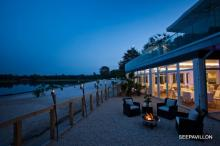 Da kommen Urlaubsgefühle auf - der Seepavillon am Fühlinger See.