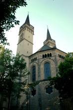 Ostseite von St. Severin (Foto: Marie Neuhalfen)