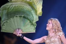 Nur 1,57 Meter klein, ist Shakira dennoch ein riesiger Star. (Foto: dapd)