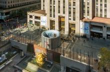 Shanghai in New York: Die Rotunde vor dem Rockefeller Center Foto: HG Esch Photography