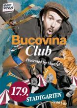 Shantel lädt zum Bucovina Club in den Stadtgarten. (Fyler: http://www.bucovina.de)