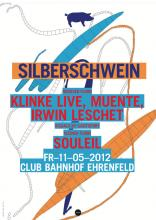 Flyer Silberschwein Party