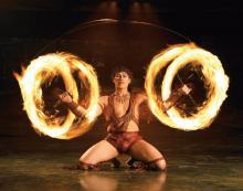 Der Cirque du Soleil gastiert  für fünf Shows in Köln. (Quelle: BB Promotion)