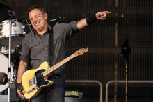 Bruce Springsteen: Wo er auftritt, sind zigtausende hin und weg. (Foto: dapd)