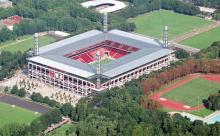 Markantestes Gebäude im Stadtbezirk: Das Rheinenerhie-Stadion