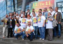 """Staraufgebot Beim """"11. im 11.""""-Event ist alles dabei, was in Köln musikalisch Rang und Namen hat (Bild: Christian Rentrop)"""