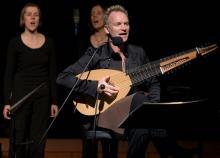 Sting steht im Semptember in der Lanxess Arena auf der Bühne. (Foto: ddp)