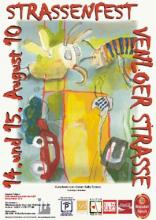 Den Kunstwettbewerb für das Straßenfestplakat hat in diesem Jahr Karen Betty Tobias gewonnen (Bild: Werbepraxis von der Gathen)