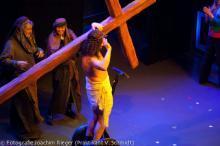 Die umstrittene Jesus-Szene der Stunksitzung 2012. (Foto: J. Rieger)
