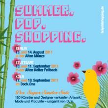"""Das """"Summer Pop Shopping"""" in Köln muss für dieses Jahr gestrichen werden."""