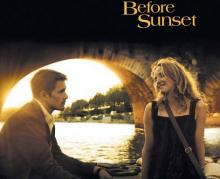 "Ethan Hawk und Julie Deply in ""Before Sunset""."