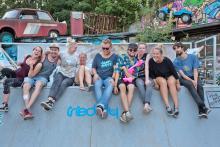 Feixen beim Skate-Contest: Wie die Hühner auf der Grindstange Foto: VeyVey Films
