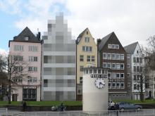 Verpixelt: Kölner können ihre Häuser bei Street View unkenntlich machen.