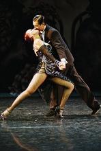 """Voller Leidenschaft: Tänzerpaar in """"Último Tango"""". (Foto: Damian Sera)"""