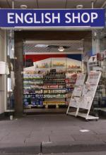 Der English Shop in Köln direkt neben dem Kaufhof (Foto: Sebastian Reichert)