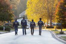 """Die Freizeit-Sheriffs in """"The Watch""""-Uniform (Foto: 20th Century Fox)"""
