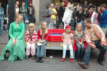Kindertheater beim Theaterbummel 2009 (Foto: Wolfgang Weimer)