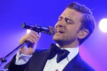 Justin Timberlake ganz schick im Smoking. (Foto: Frank Micelotta / Picturegroup)