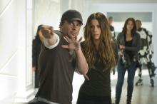 """""""Szenenbild 24"""" Bild-ID: DF-05446_r Regisseur Len Wiseman mit Kate Beckinsale während der Dreharbeiten am Set. (Foto: Sony Pictures Releasing GmbH)"""