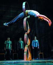 Traces zeigt die Show ehemaliger Cirque-du-Soleil-Akrobaten. (Foto: BB Promotion)