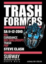 Der Flyer zur Party. (Quelle: www.myspace.com/ trashformersparty)