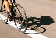 Kampf gegen die Uhr: Radfahren als Bestandteil des Duathlons. (Foto: dapd)