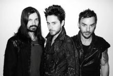 Thirty Seconds To Mars: Tomislav Miličević, Jared und Shannon Leto (v.l.n.r.)