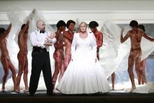 """Für seine blutigen Opern bekannt: Tilman Rabe inszenierte """"Turandot"""" am Theater Essen (©Theater und Philharmonie Essen)"""