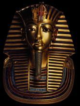 Maske des legendären Tutanchamun