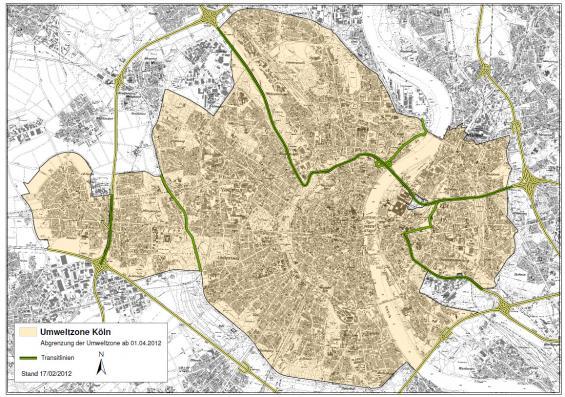 Die Kölner Umweltzone