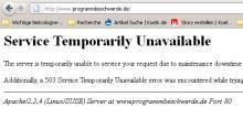 Das Bürgerportal www.programmbeschwerde.de ist auf Grund einer Überlastung zeitweise nicht verfügbar.