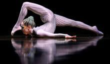 Irina Naumenko, Artistin des Cirque du Soleil (Bild: ddp)