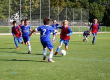 Schon beim Veedels-Cup 2011 gaben die Kleinen alles. (Foto: Karin Danne)