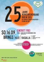 Flyer zur VRS Geburtstagsfeier