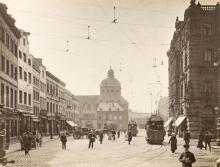 Der Waidmarkt auf einem Foto von 1902. @ Kölnisches Stadtmuseum