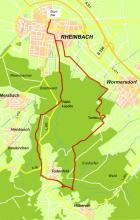 Durch den Rheinbacher Wald