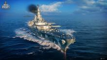 """Free2Play auf Feindfahrt: Die """"USS Montana"""" in """"World of Warships"""" wargaming.net"""