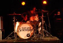 """Ex-Razorlight-Drummer Andy Burrow spielt seit 2009 bei """"We Are Scientists"""". (Foto: Ronja Gasper)"""
