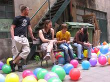 """Die Band """"Weltrekorder"""" aus Köln hat am 21. August einen Konzert-Weltrekord aufgestellt. (Foto: www.weltrekorder.de)"""