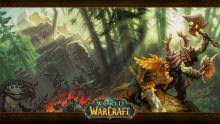 """Zauberwelt ohne Grauschattierungen: Azeroth in """"World of Warcraft"""" Foto: Blizzard"""
