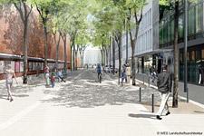 Umbau Oper: Weniger Parkplätze, mehr Bäume, neue Bänke