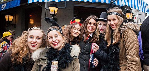 Karneval feiern in Köln