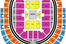 Lanxess Arena Sitzplätze Anzahl