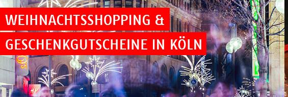 Weihnachtsshopping in Köln